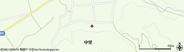 山形県酒田市中野俣中里26周辺の地図
