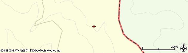 宮城県栗原市栗駒沼倉荒山周辺の地図