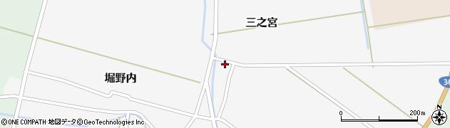 山形県酒田市三之宮37周辺の地図