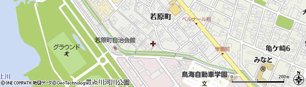 山形県酒田市若原町13周辺の地図