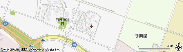 山形県酒田市大野新田村南121周辺の地図