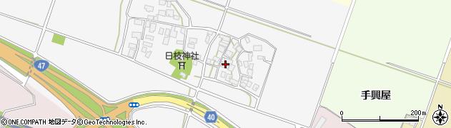 山形県酒田市大野新田周辺の地図