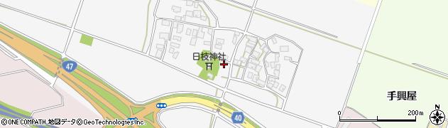 山形県酒田市大野新田村南157周辺の地図