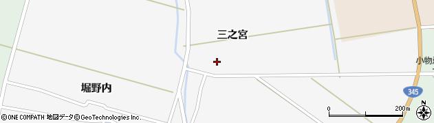 山形県酒田市三之宮44周辺の地図