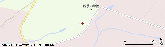 山形県最上郡金山町飛森1124周辺の地図