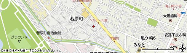 山形県酒田市若原町3周辺の地図