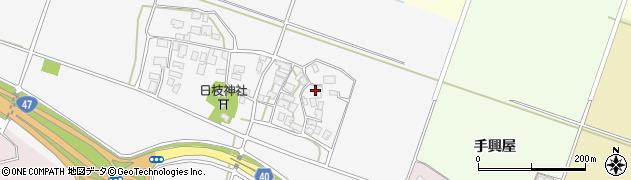 山形県酒田市大野新田村南123周辺の地図