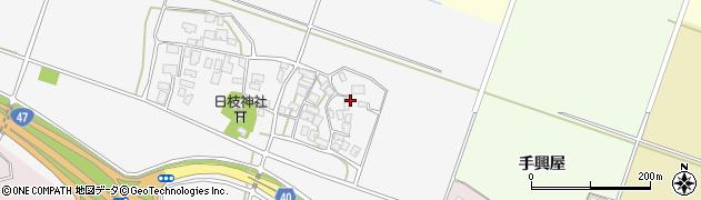 山形県酒田市大野新田村南122周辺の地図