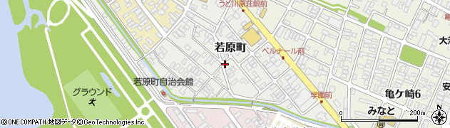 山形県酒田市若原町10周辺の地図