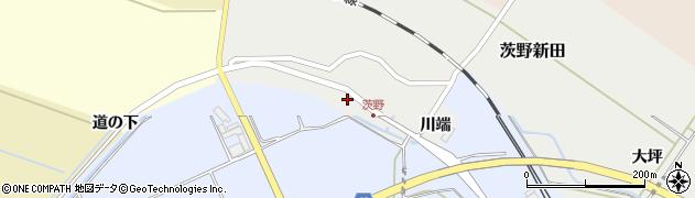 山形県酒田市茨野新田川端5周辺の地図