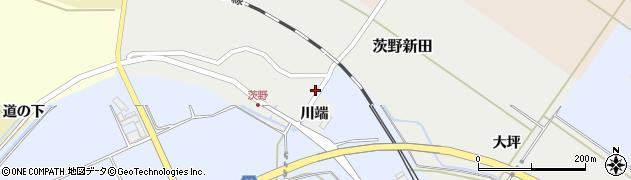 山形県酒田市茨野新田32周辺の地図