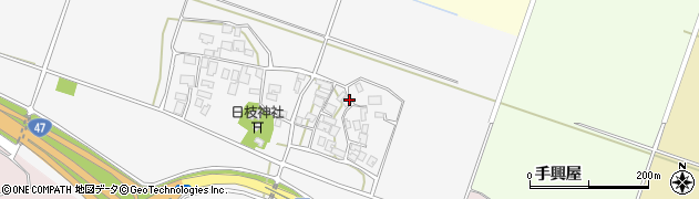 山形県酒田市大野新田村南127周辺の地図