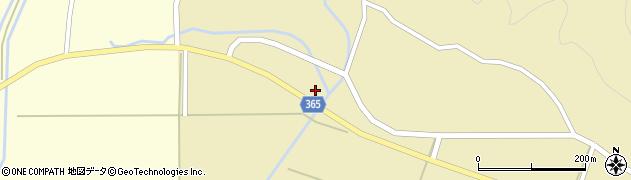 山形県酒田市山谷下川原79周辺の地図