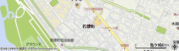山形県酒田市若原町9周辺の地図
