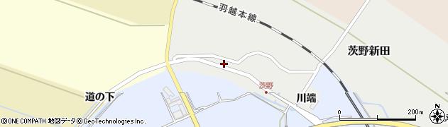 山形県酒田市茨野新田12周辺の地図