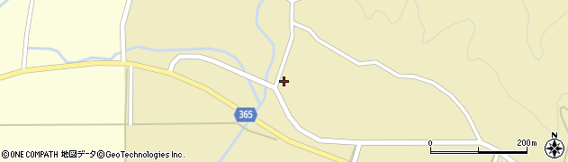 山形県酒田市山谷三ケ沢30周辺の地図