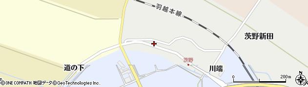 山形県酒田市茨野新田11周辺の地図