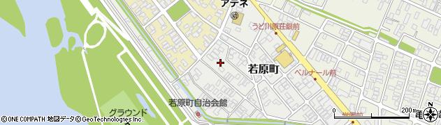 山形県酒田市若原町12周辺の地図
