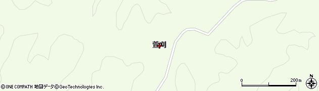 岩手県一関市萩荘萱刈周辺の地図