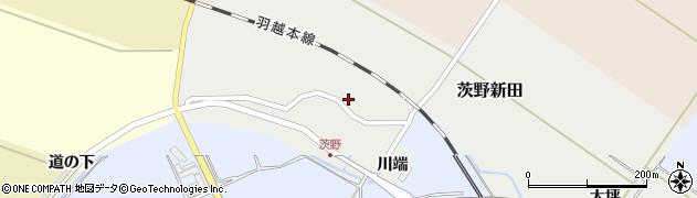 山形県酒田市茨野新田30周辺の地図