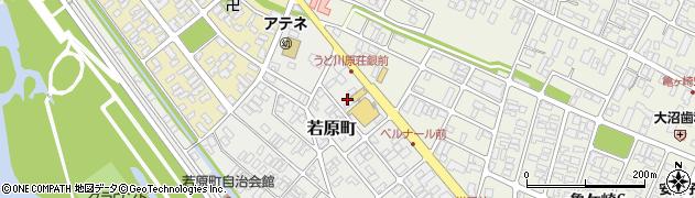 山形県酒田市若原町2周辺の地図