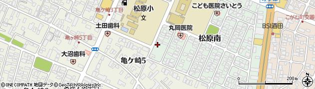 山形県酒田市松原南14-25周辺の地図