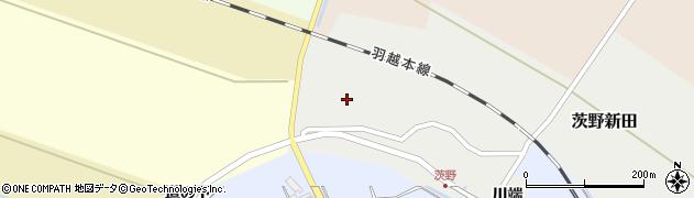 山形県酒田市茨野新田48-1周辺の地図