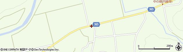 山形県酒田市中野俣中瀬97周辺の地図