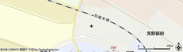 山形県酒田市茨野新田46周辺の地図