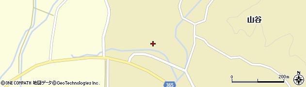 山形県酒田市山谷三ケ沢70周辺の地図