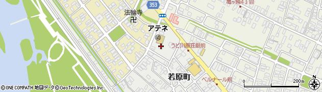 山形県酒田市若原町1周辺の地図