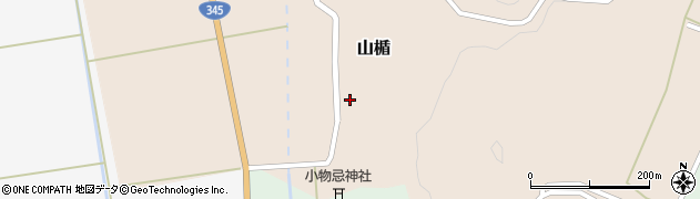 山形県酒田市山楯清水田47周辺の地図