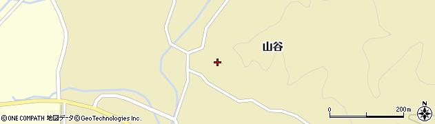 山形県酒田市山谷三ケ沢11周辺の地図