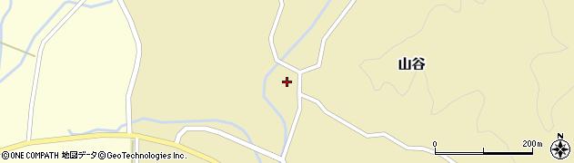 山形県酒田市山谷三ケ沢48周辺の地図