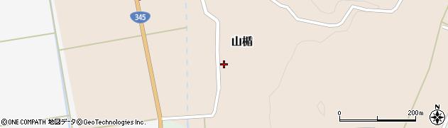 山形県酒田市山楯清水田50周辺の地図