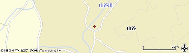 山形県酒田市山谷寺田44周辺の地図