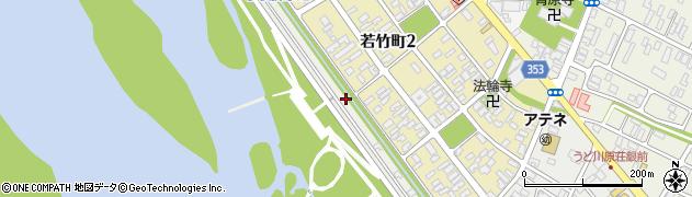 山形県酒田市堤町5周辺の地図