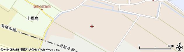 山形県酒田市本川大海塚周辺の地図