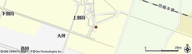 山形県酒田市勝保関上割符29周辺の地図