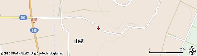 山形県酒田市山楯清水田93周辺の地図