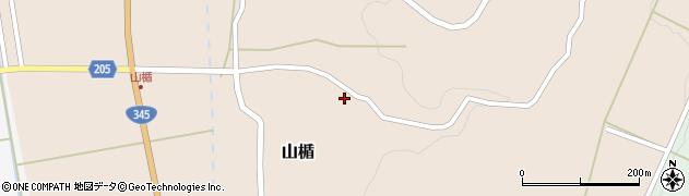 山形県酒田市山楯清水田92周辺の地図