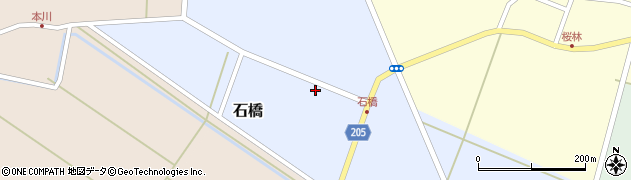 山形県酒田市石橋前田40周辺の地図