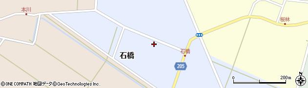 山形県酒田市石橋68周辺の地図