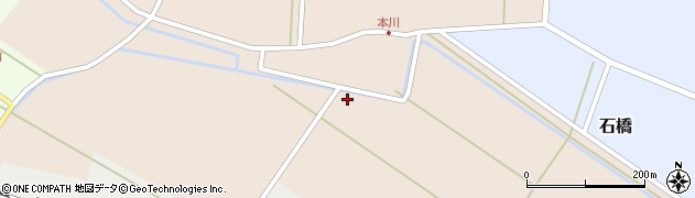 山形県酒田市本川68周辺の地図