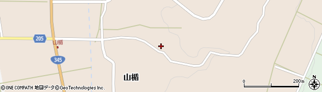 山形県酒田市山楯清水田7周辺の地図