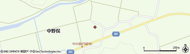 山形県酒田市中野俣村北25周辺の地図