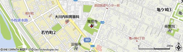 青原寺周辺の地図