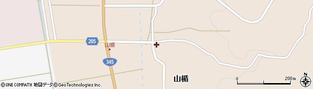 山形県酒田市山楯清水田80周辺の地図