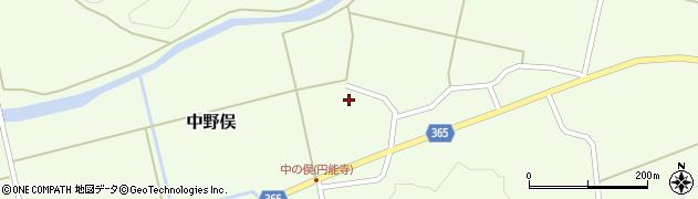 山形県酒田市中野俣村北26周辺の地図