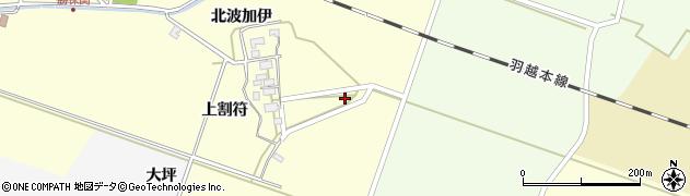 山形県酒田市勝保関上割符9周辺の地図